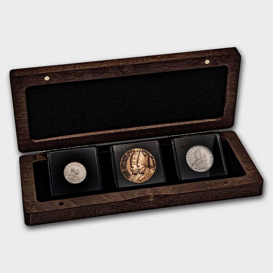 Vatican City Double Canonization 3-Coin Set BU