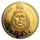 Venezuela 20 Gramos Gold De Oro Puro (Abrasions, Random)