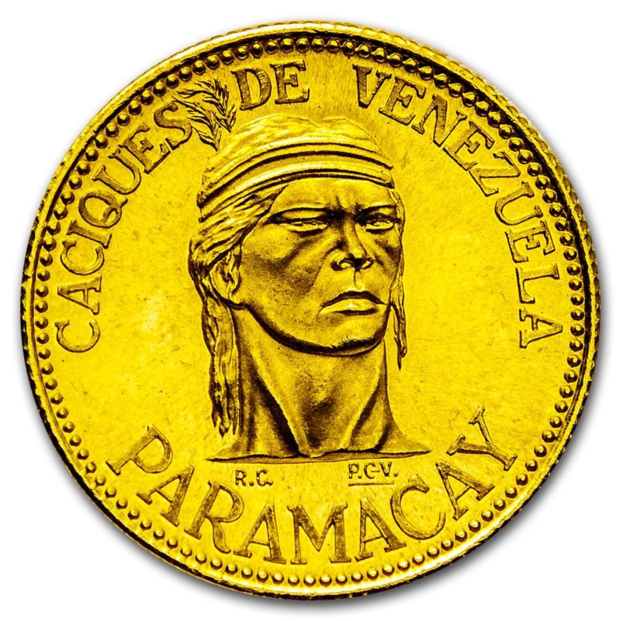 Venezuela 6 Grams Gold Caciques de Venezuela (Random)
