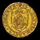 Venice Gold Scudo d'Oro Andrea Gritti (1523-39 AD) MS-64 NGC