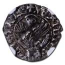 Venice Silver Tor Michele Steno (1400-1413 AD) VF-30 NGC