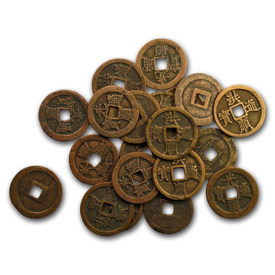 Vietnamese Empire AE Cash Le Thanh Tong (1460-1497 AD) Avg Circ