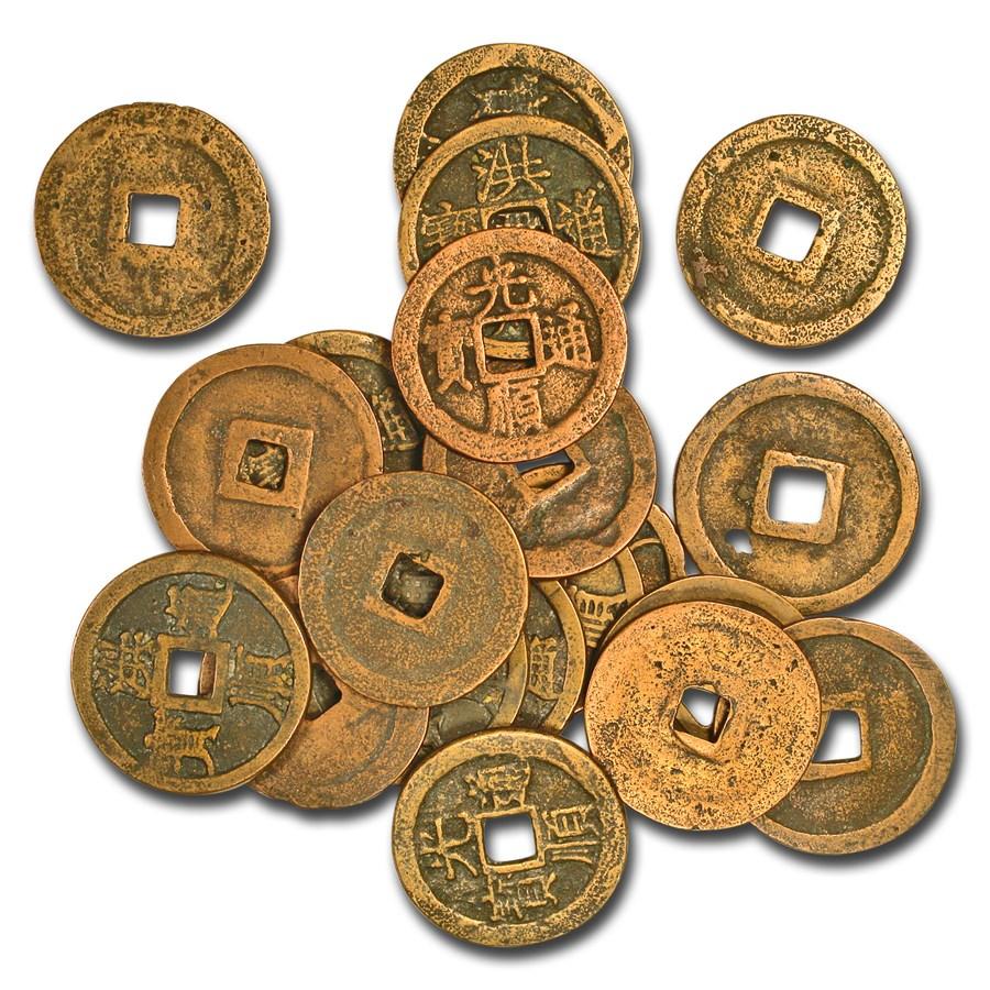 Vietnamese Empire AE Cash Le Thong Duc (1510-1516 AD) Avg Circ