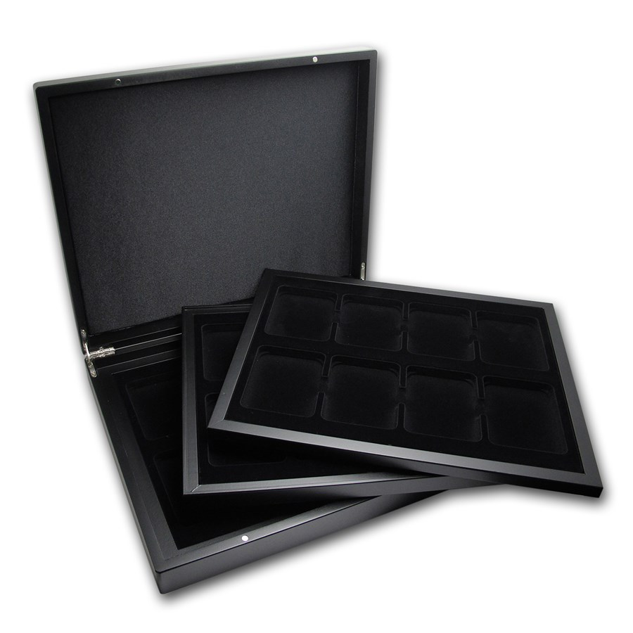 Volterra Trio Presentation Case - 24 Slabs (Matte Black)