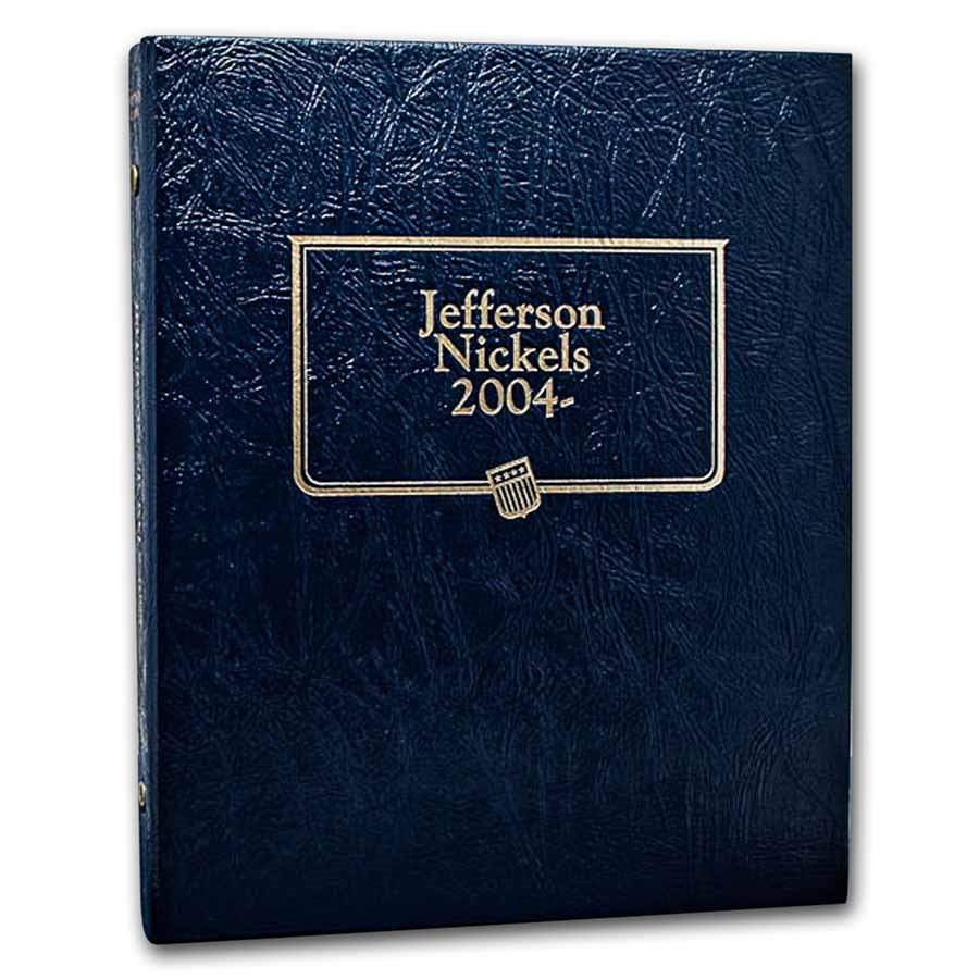 Whitman Coin Album #1973 - Jefferson Nickels 2004-Current