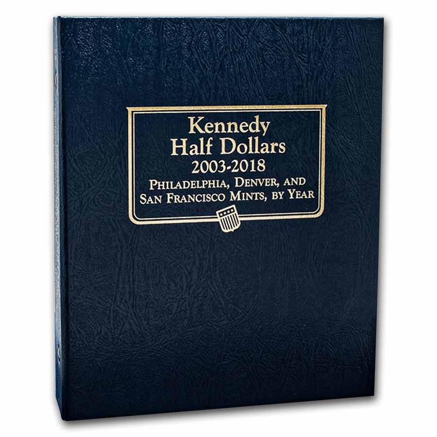 Whitman Coin Album #1974 - Kennedy Half Dollars 2003-2018