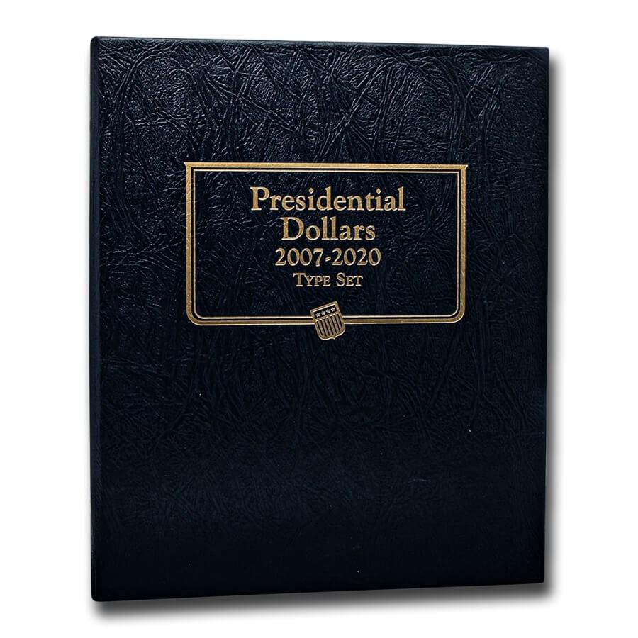 Whitman Coin Album #2183 - Presidential Dollars Single Mint or PF