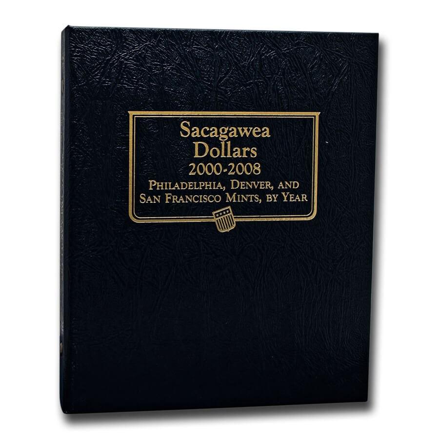 Whitman Coin Album #2234 - Sacagawea Dollars 2000-2008