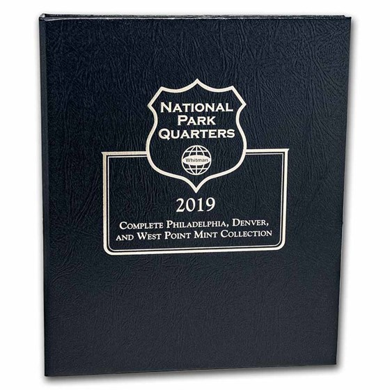 Whitman Coin Album #4762 - National Park Album 2019