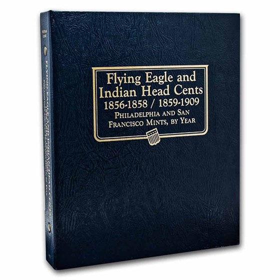 Whitman Coin Album #9111- Flying Eagle/Indian Head Cent 1856-1909