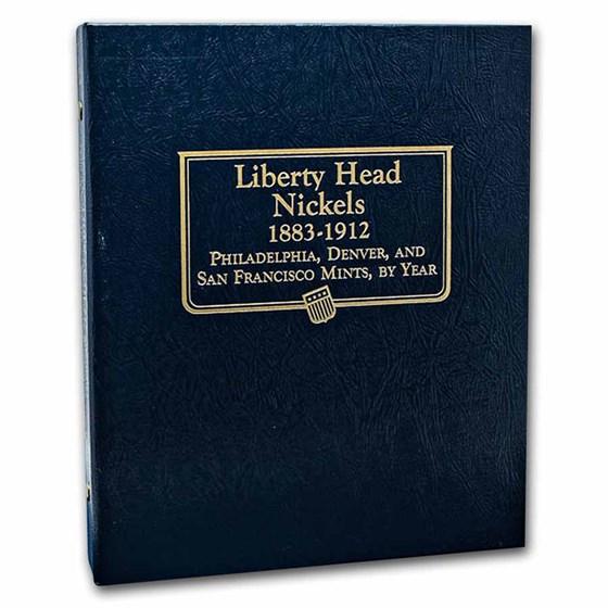 Whitman Coin Album #9114 - Liberty Head Nickels 1883-1912
