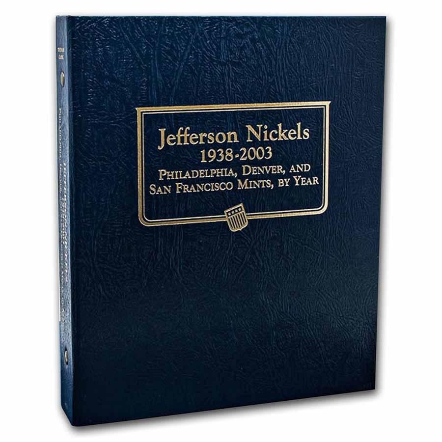 Whitman Coin Album #9116 - Jefferson Nickels 1938-2003