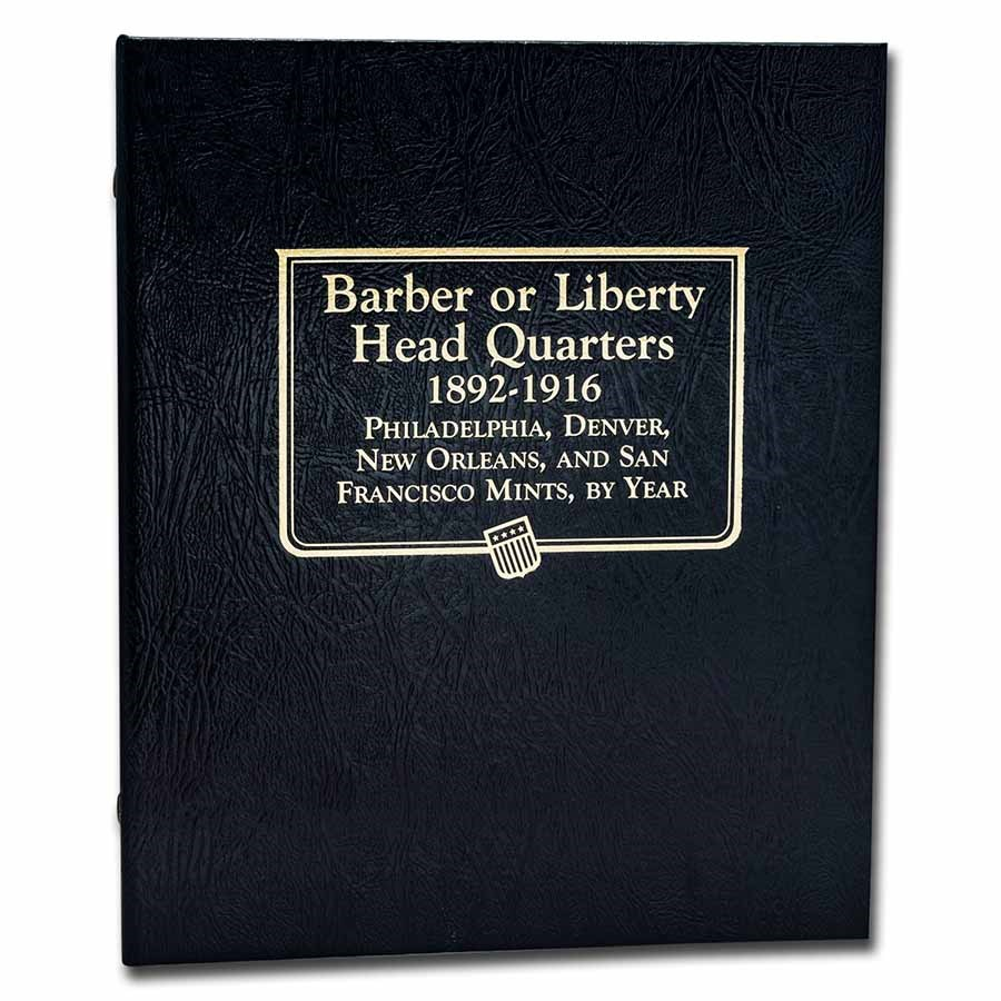 Whitman Coin Album #9120 - Barber Quarters 1892-1916