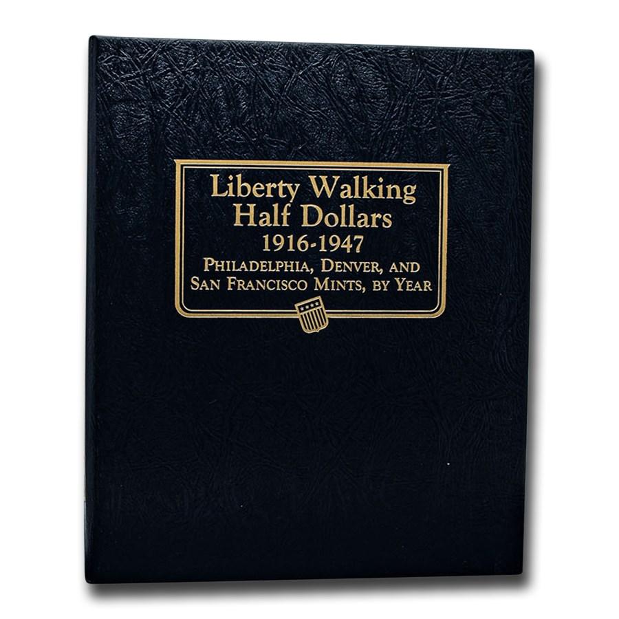 Whitman Coin Album #9125 - Liberty Walking Halves 1916-1947