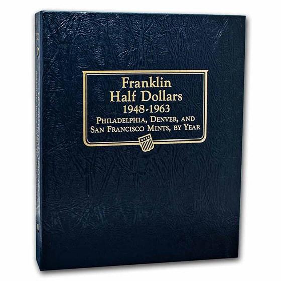 Whitman Coin Album #9126 - Franklin Half Dollars 1948-1963