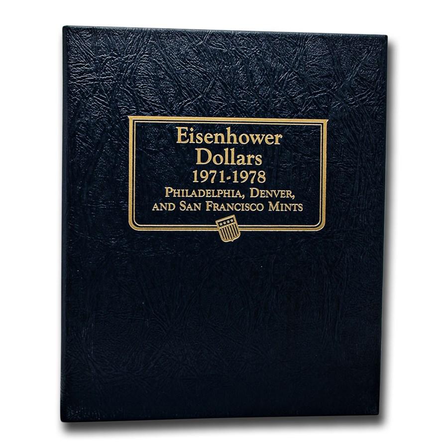 Whitman Coin Album #9131 - Eisenhower Dollars 1971-1978