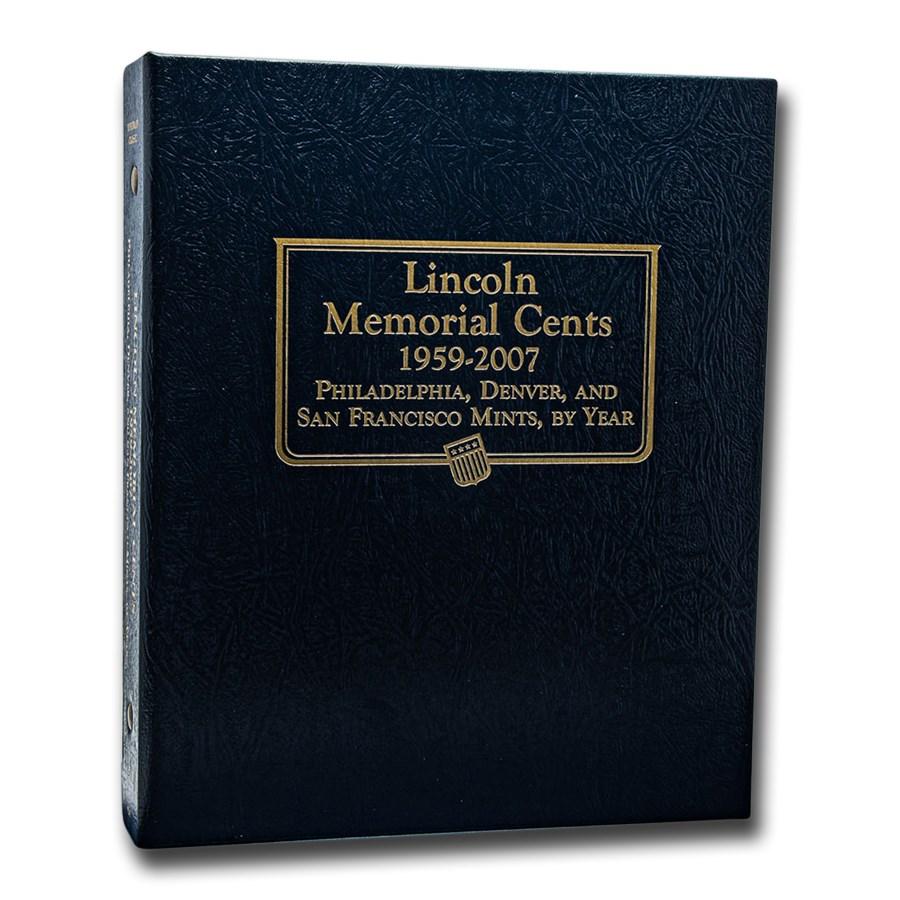 Whitman Coin Album #9141 - Lincoln Memorial Cents 1959-2007