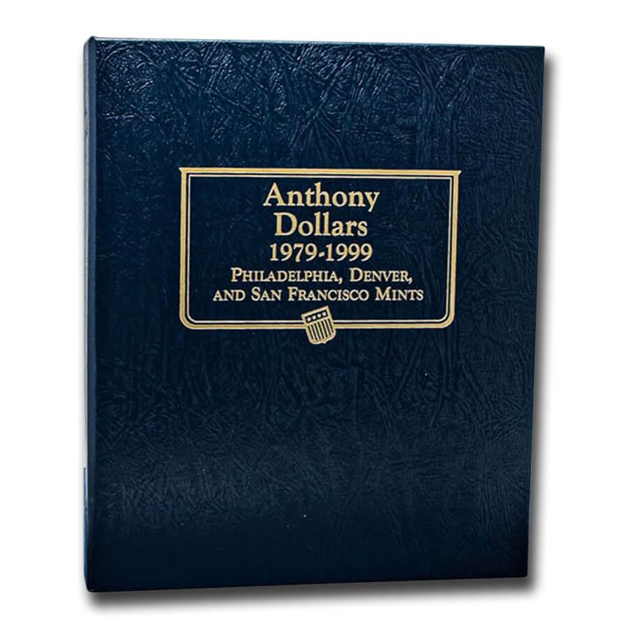 Whitman Coin Album #9149 - Susan B. Anthony Dollars 1979-1999