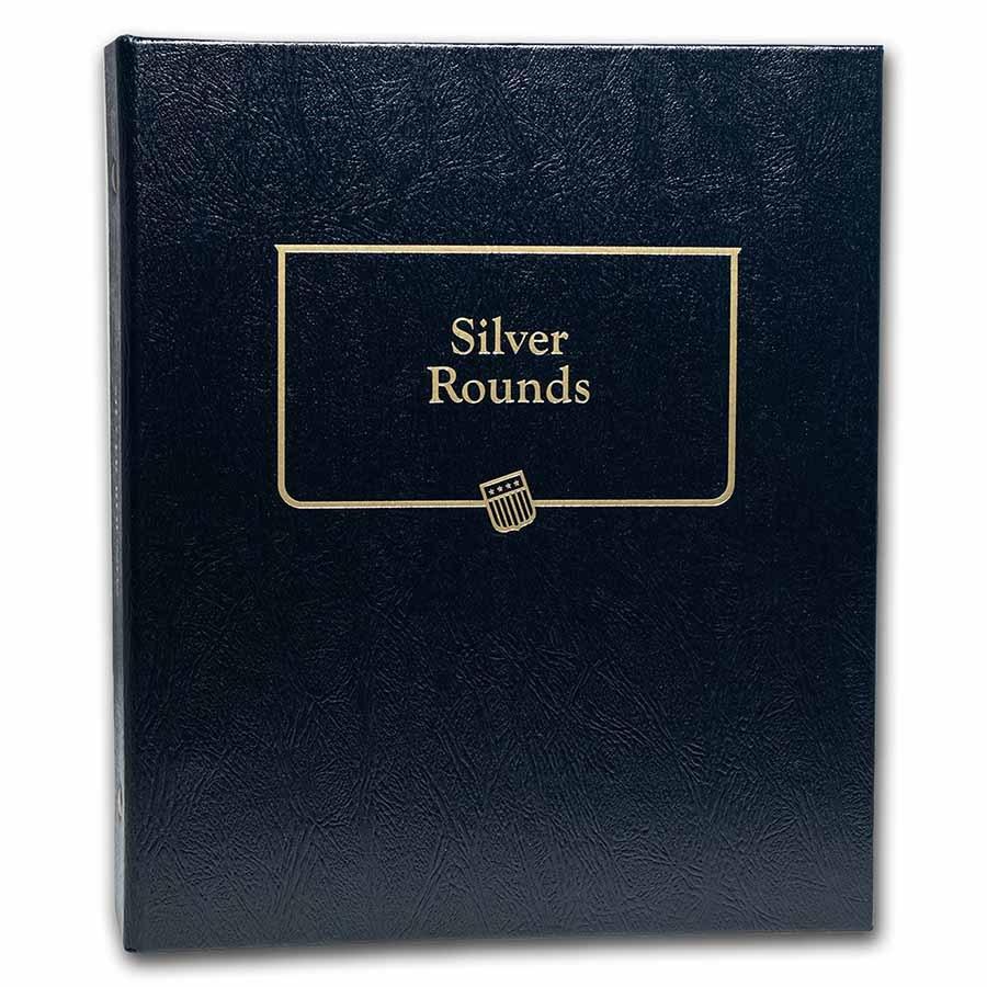 Whitman Coin Album #9150 - Silver Rounds