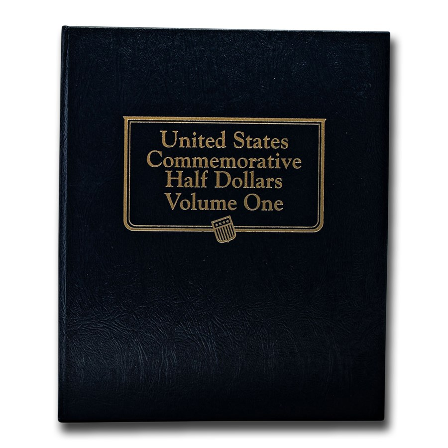 Whitman Coin Album #9159 - U.S. Commemorative Halves Vol. 1