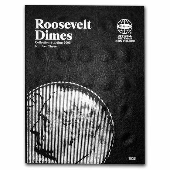 Whitman Folder #1939 - Roosevelt Dimes #3 - 2005-2015