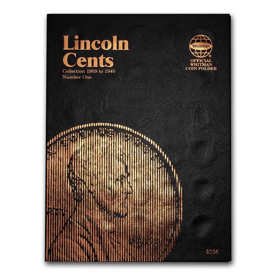 Whitman Folder #9004 - Lincoln Cents #1 - 1909-1940