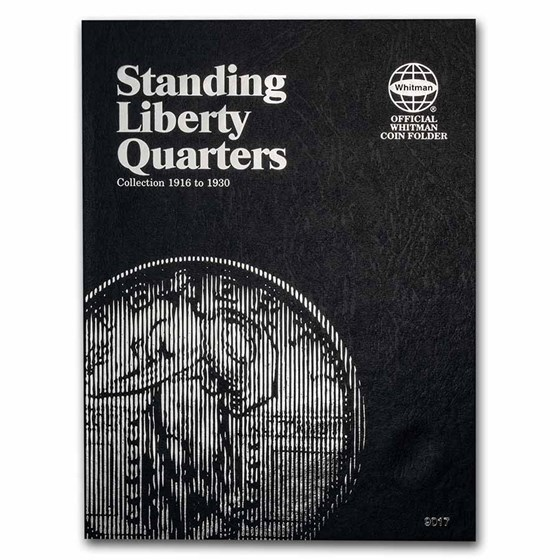 Whitman Folder #9017 - Liberty Standing Quarters 1916-1930