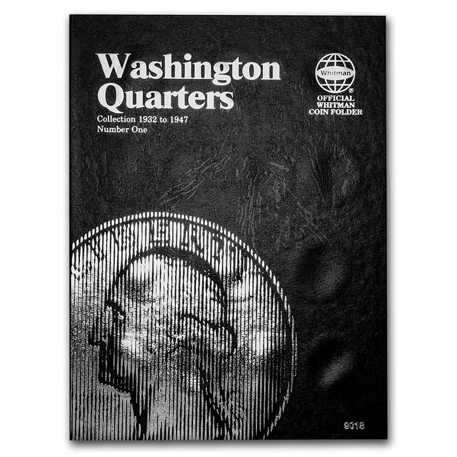Whitman Folder #9018 - Washington Quarters #1 - 1932-1947