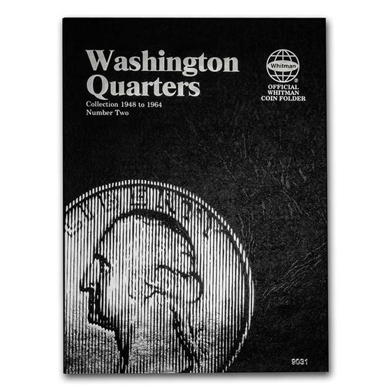 Whitman Folder #9031 - Washington Quarters #2 -1948-1964