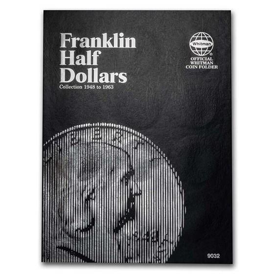 Whitman Folder #9032 - Franklin Half Dollars - 1948-1963