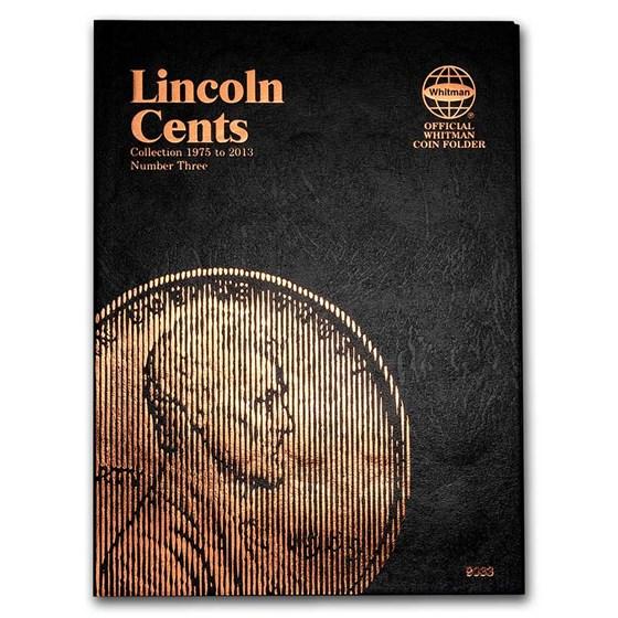 Whitman Folder #9033 -Lincoln Cents #3 - 1975-2013