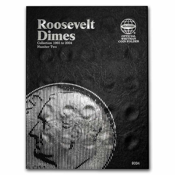 Whitman Folder #9034 - Roosevelt Dimes #2 - 1965-2004