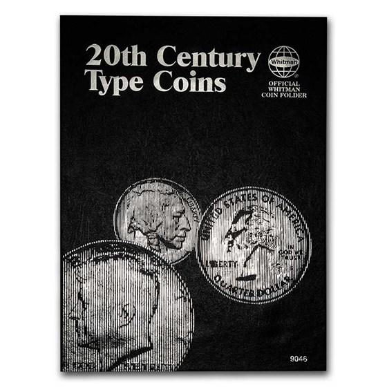 Whitman Folder #9046 - 20th Century Type Coins