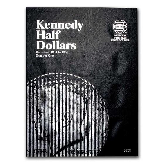 Whitman Folder #9699 - Kennedy Half Dollars #1 - 1964-1985