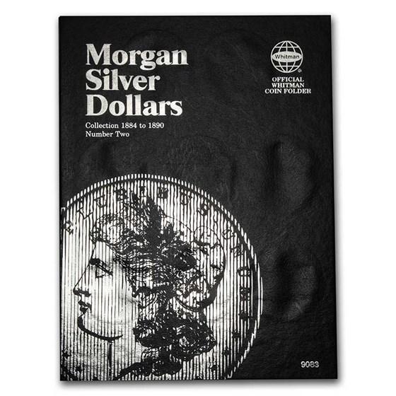 Whitman Folder - Morgan Silver Dollar #2 - 1884-1890