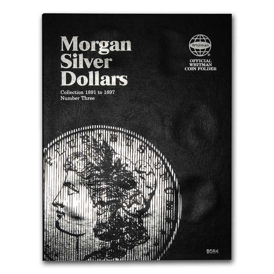 Whitman Folder - Morgan Silver Dollar #3 - 1891-1897