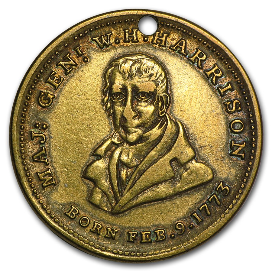 William Henry Harrison 1840 Presidential Campaign Token