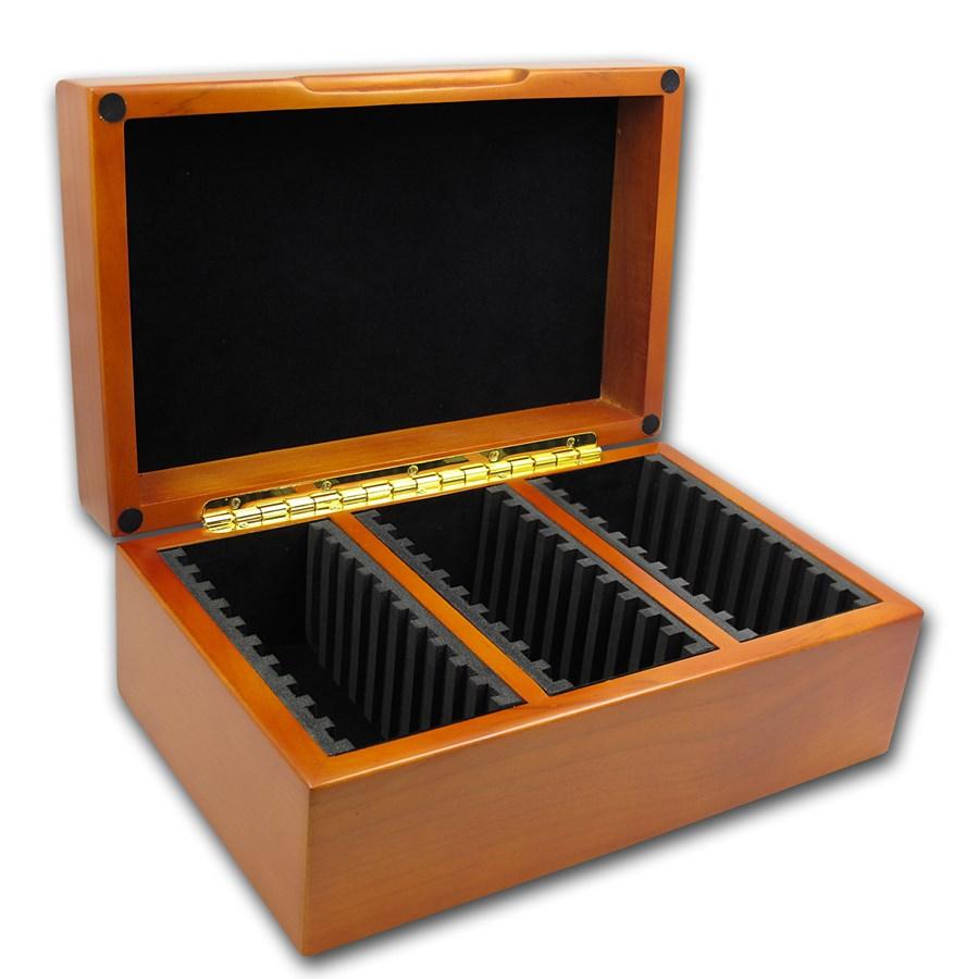 Wooden Slab Storage Box - 30 Slabs