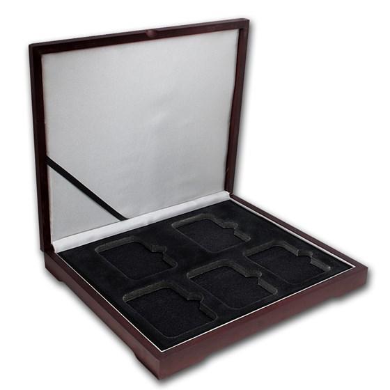 Wooden Slab Storage Box - Five Slab