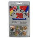 World Set 20-Coins of the Americas
